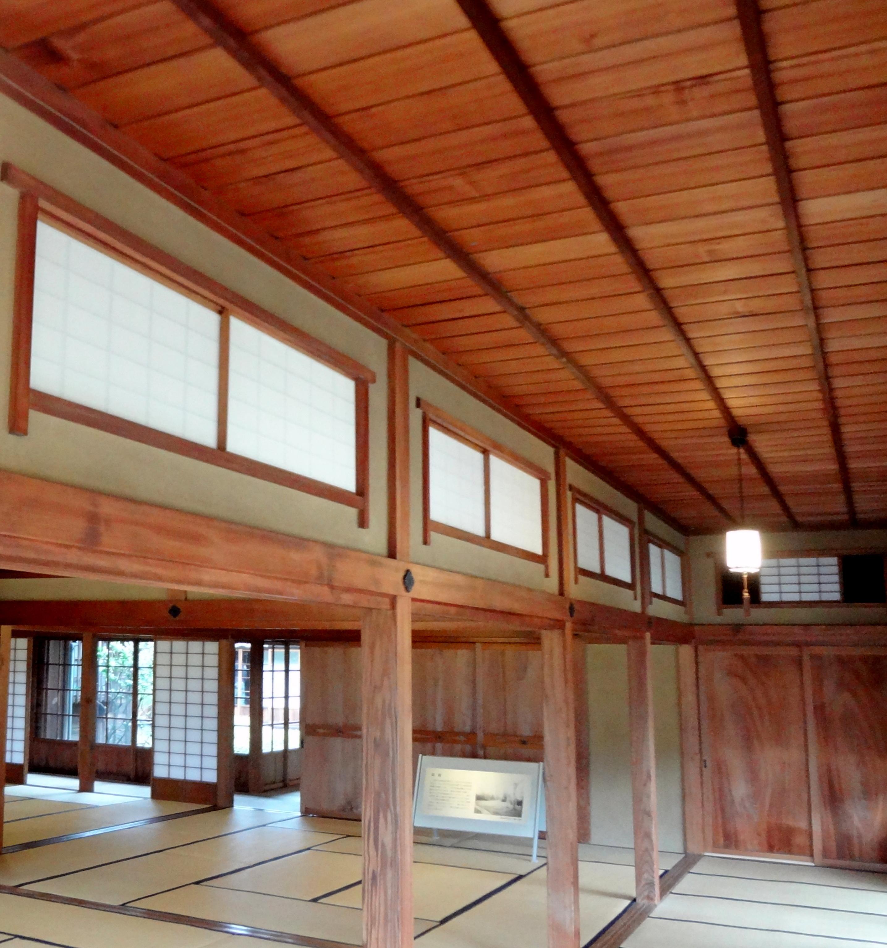 和の住宅で美しく暮らす 和室の 天井 には美的センスがあらわれる
